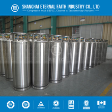 Export To Europe Welded Thermal-insulating Cylinder Series LOX LIN LAr LCO2 Dewar Cryogenic Liquid Oxygen Cylinder