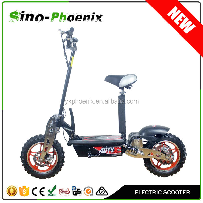 2016 New 2 wheel 800w On road electric scooter with big wheel ( PES01-A )