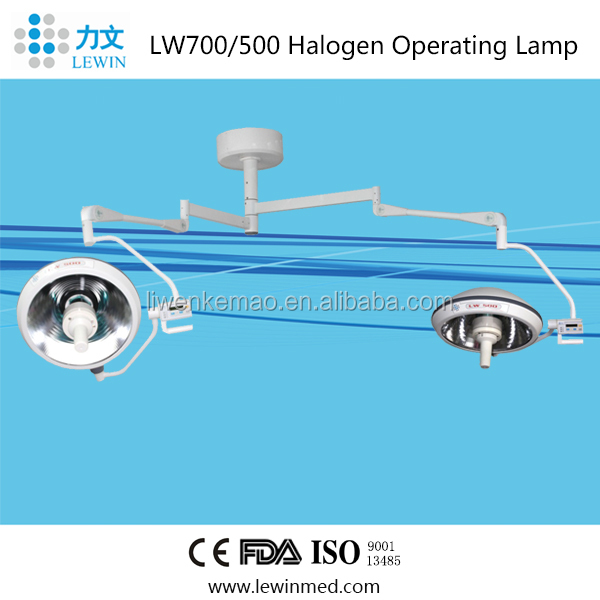 Double head Halogen Operating Lamp LW700/500 Germany OSRAM BULB