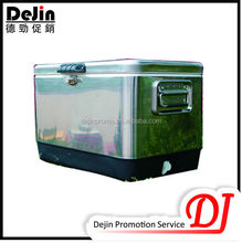 50l yellow locking solar cooler box