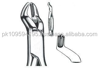EXTRACTING FORCEPS, AMERICAN PATTERN, FIG. 53-L, UPPER MOLARS, LEFT SIDE / Dental Instruments From Pakistan