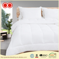 White Polyester Medium Warmth Queen Down Alternative Comforter Duvet insert