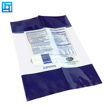 Full printed digital printed stand up pouches plastic bag packaging