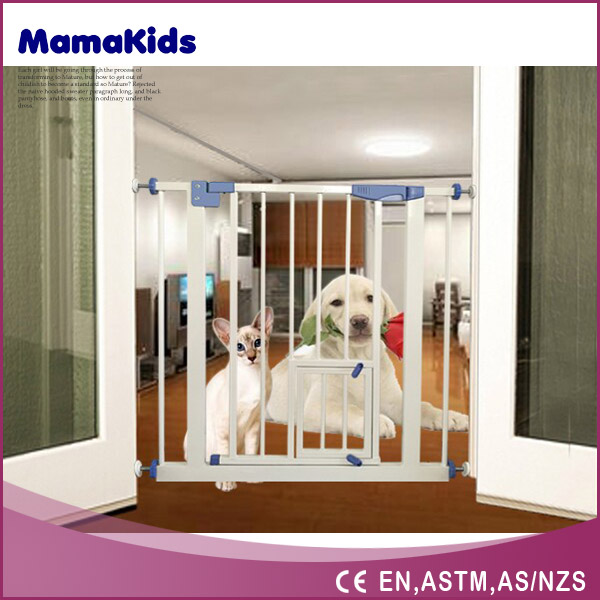 folding pet fence with en certificate, 2016 the best hot selling folding pet dog gates