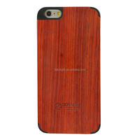 Natural Real Wood Blank Hard Back Mobile Phone Cover Case For Apple iphone 6 6s Plus