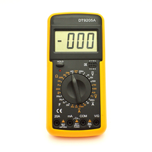Handheld 3 1/2 Digital Multimeter DT9205A Multitester Digital