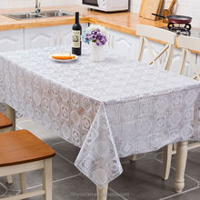 Top Sale Good Quality Silver Printed Waterproof Fancy Tablecloth,Restaurant Table Cover