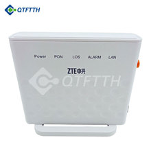 Brand new english interface ftth epon modem zte zxa f401 1ge epon ont english software F401 onu epon with 1 year warranty