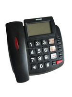 big lcd phone Big button telephone for old people corded telephone for desk phone telephone booth