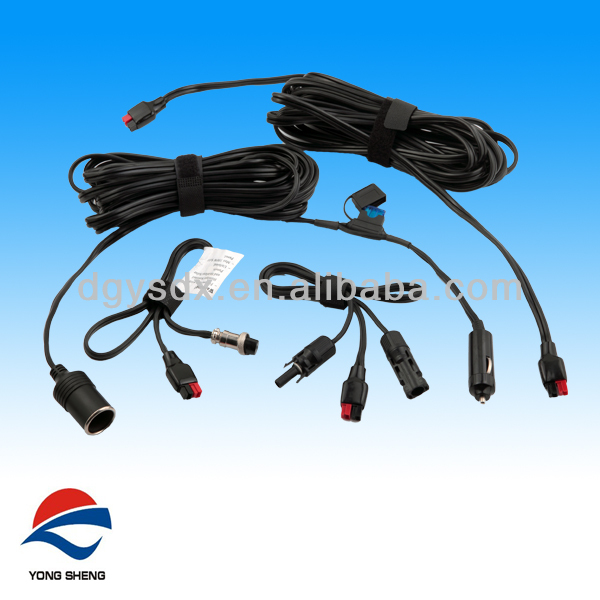 12V Car cigarette lighter cable for battery charger