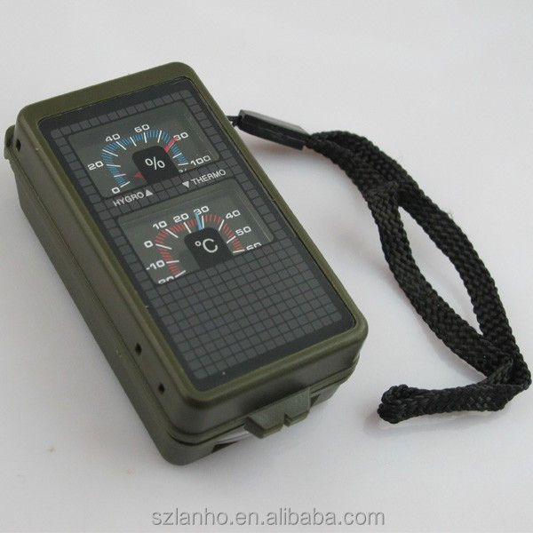 10 in 1 Hunt Army Camp Hiking Outdoor Survival Kit Multi-Function Compass