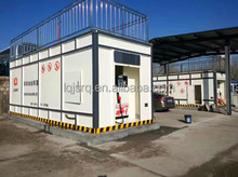 40 feet fuel containerized skid mounted filling station