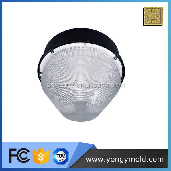 warterproof high quality transparent plastic outdoor light cover