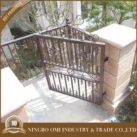Garden aluminium gates/outdoor fence temporary fence/used aluminium retractable gate