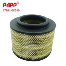 Chinese Supplier Forklift Air Filter For Hilux Innova Spare Parts 17801-0C010