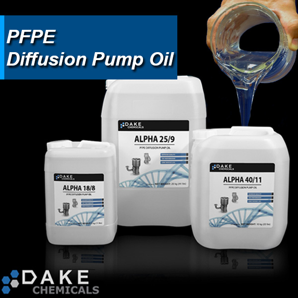 PFPE Diffusion Pump Oil for Plasma and Vapor Disposition