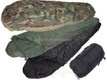 Good quality sleeping bag military for outdoor use,military camo sleeping bag