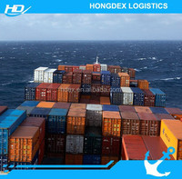 Freight forwarder sea freight shipping from shanghai to singapore