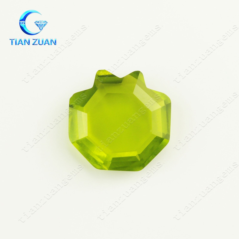 The hot sale fish shape and some irregular Glass Crystal Stone for decoration wholesale gemstone
