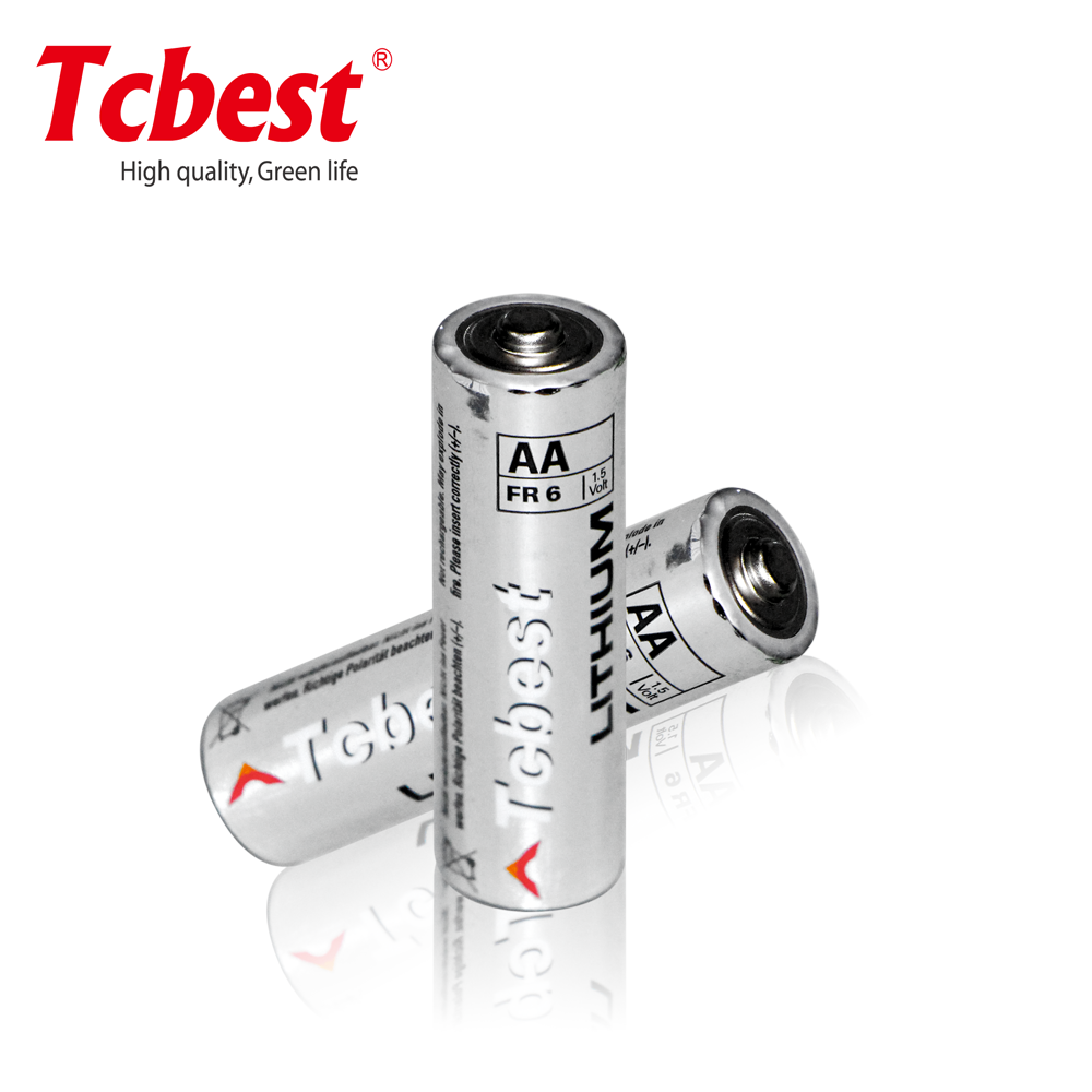 1.5V aa battery FR6/ FR14505 lithium battery for battery sprayer from China supplier/