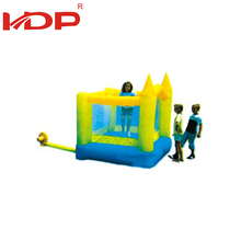 Anti-Fade water ontheme park pool slide inflatable bouncy castle