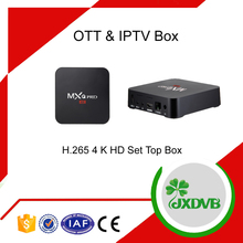 Andriod 6.0 IPTV Set Top Box with IPTV EPG VOD Software