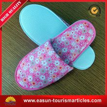 personalized shoe accessories airline slippers eva disposable slipper hotel disposable slippers