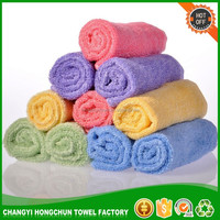 Bamboo Fiber Kitchen Cleaning Cloth Washing Dish Towel cheap wholesale bamboo wash towel kitchen wash towel GVBM5011