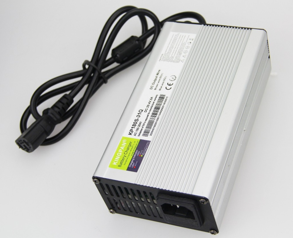 KP180S Charger AC 220V to DC 12V/8A 24V/5A 36V/4A 48V/3A Battery Charger 180W Power Supply for Elctric tools and toys