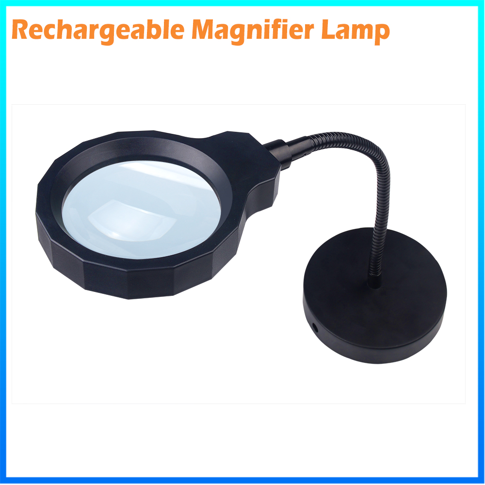 DH-88002 Inexpensive New Arrival Rechargeable 2 In 1 Datachable Solar Reading Glasses Magnifier From China