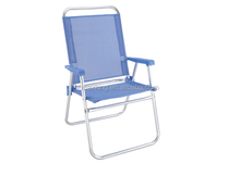Folding aluminum beach chair