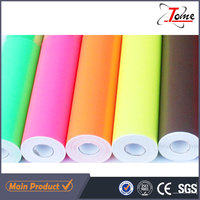 Guangzhou supplier custom graphic color vinyl design roll material