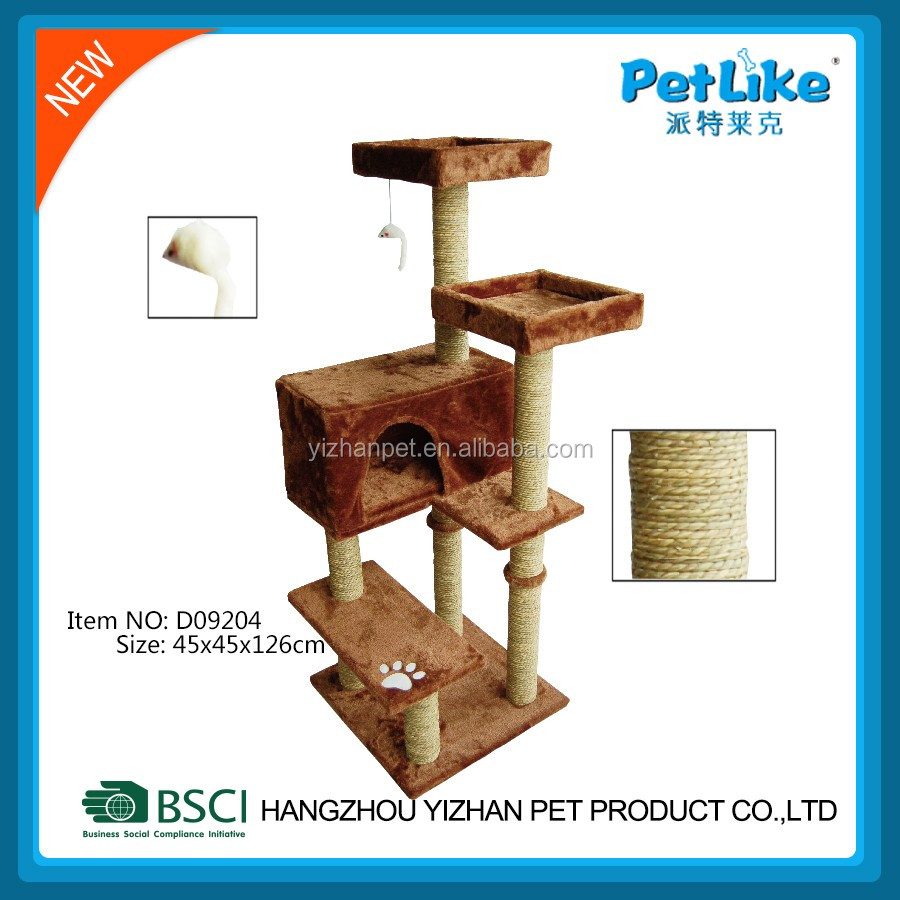 Cat Tree House Cat Scratching Tree Luxury High Mansion Cat Tree