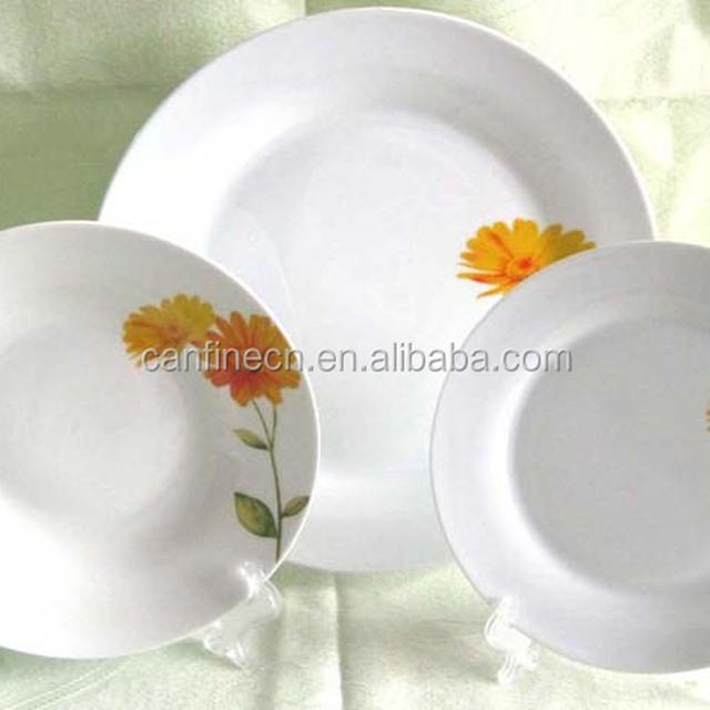 18pcs western dinnerware sets made in China cheap 18 pieces ceramic dinner set white & 18pcs western dinnerware set_Yuanwenjun.com
