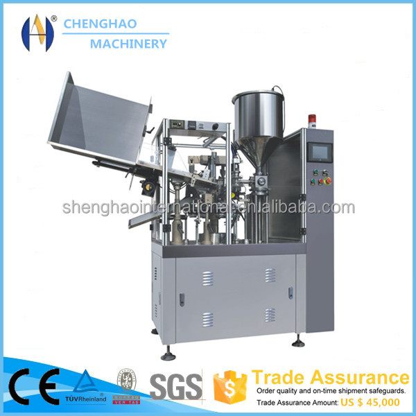 CH-009 Automatic Cosmetic Tube Sealing and Filling Machine with <strong>Date</strong> and Batch Coding