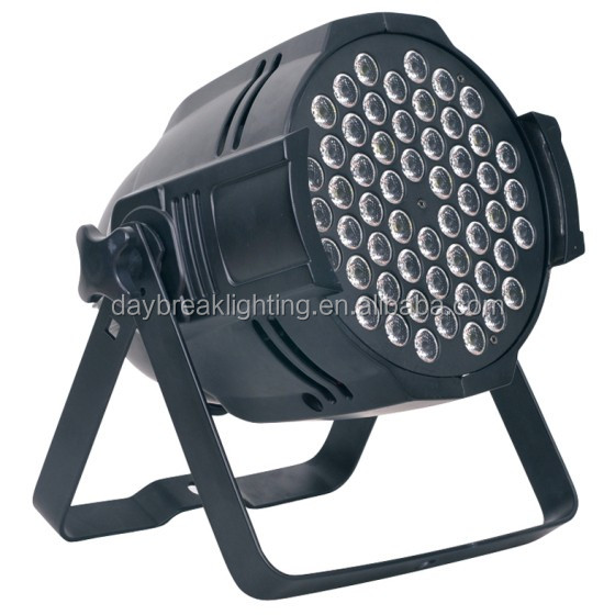 professional stage led par light 54x3w RGBW, good price led par can 54x3w, indoor use led par 64