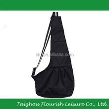 XinYou Small Black Oxford Cloth Sling Pet Dog Cat Carrier Bag