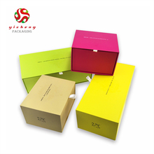 Custom paper drawer gift box wholesale