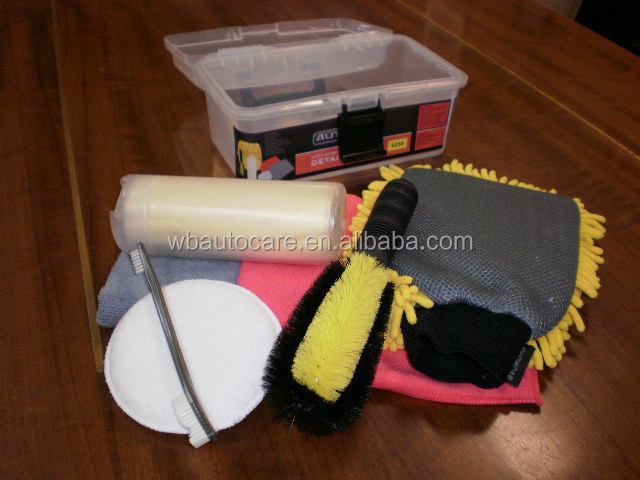 car wash kit, car cleaning kit, car care kit