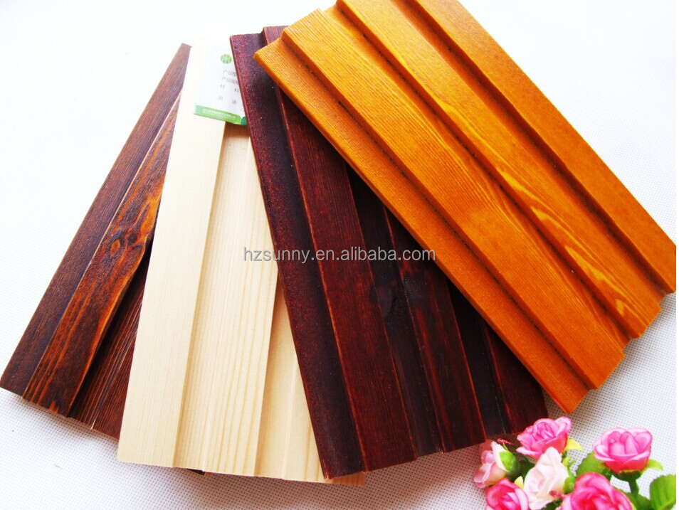 interior wall wood paneling/ceiling materials acoustic wall panel