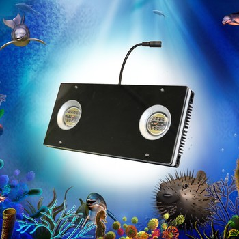 Lumini aqua customize 4 channels spectrum led aquarium lighting