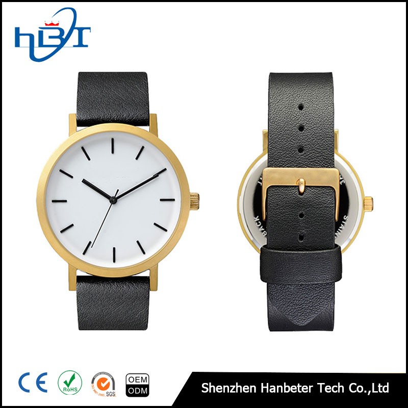 Hot selling stainless steel quartz watch design your own watch men