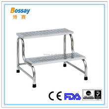 BOSSAY BS-008 Stainless Steel Medical Foot Stool