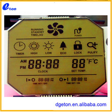 Customize polygon LCD glass panel display