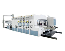 Multicolor 1/2/3/4 color corrugated carton machine paperboard printer machine with slotter