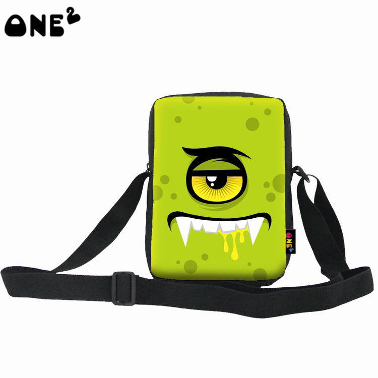 ONE2 design cheap messenger shoulder bags for school children kids students
