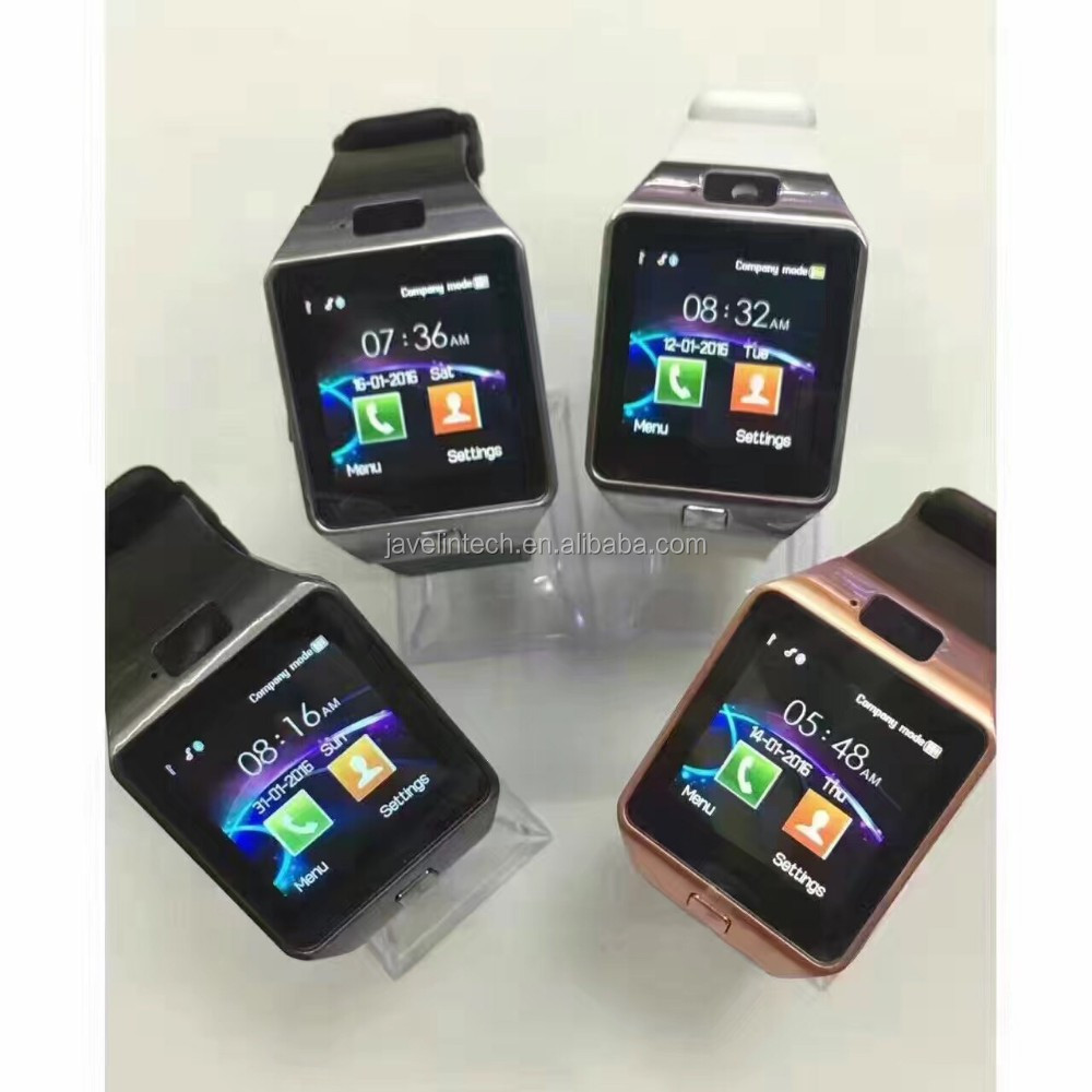 dz09 sim card gps smart watch phone for IOS/Android best selling model