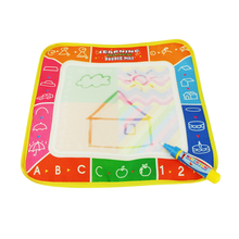 4 Color Children Doodle Water Drawing Mat Board Educational Toy with Magic Pen for Kids
