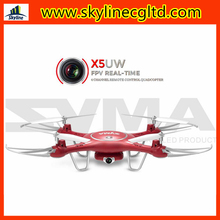 New arrive phone control RC drone quadcopter SYMA X5UW FPV real time with HD camera for aerial photography