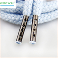 CREDIT OCEAN Custom Shoelaces metal crimp aglets